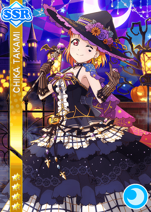 #1029 Takami Chika SSR idolized