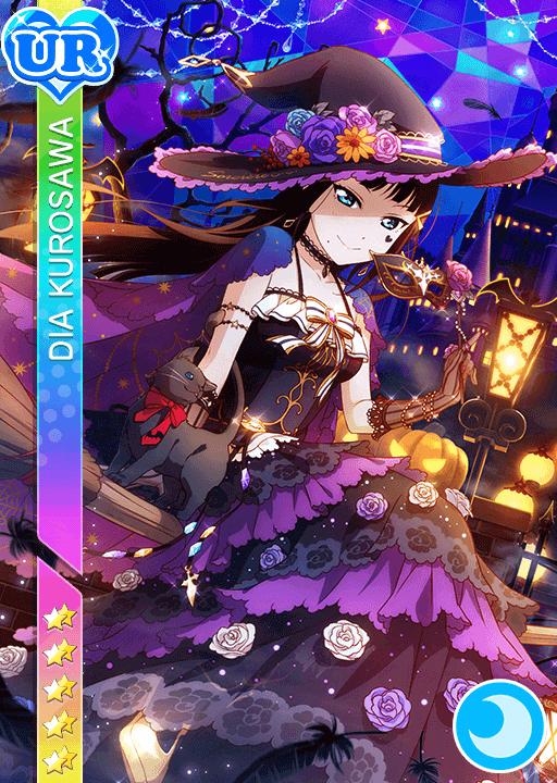 kurosawa dia ur idolized - Halloween Dia
