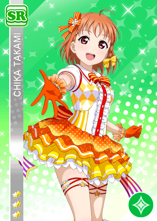 #1043 Takami Chika SR idolized