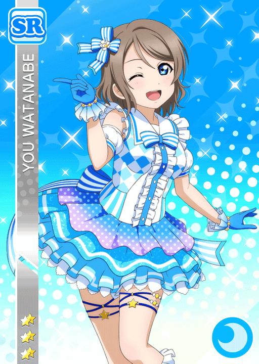 #1044 Watanabe You SR idolized