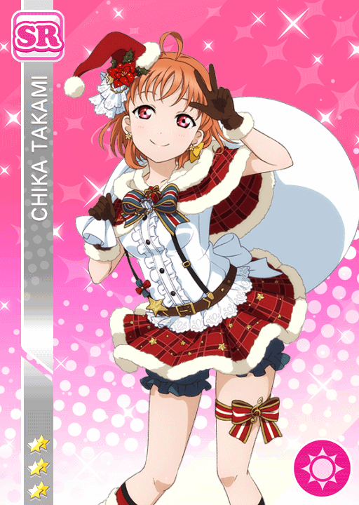 #1062 Takami Chika SR idolized