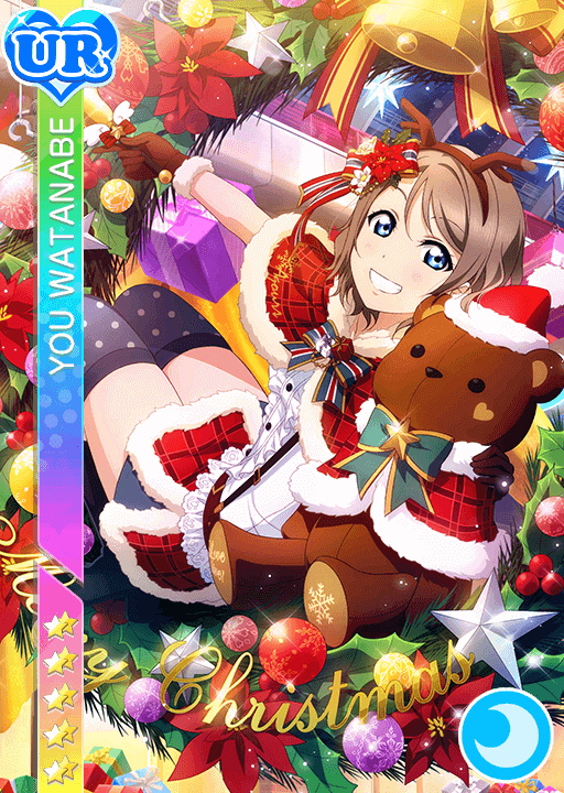 #1066 Watanabe You UR idolized
