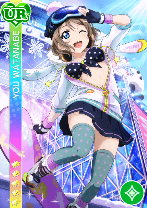 #1082 Watanabe You UR idolized