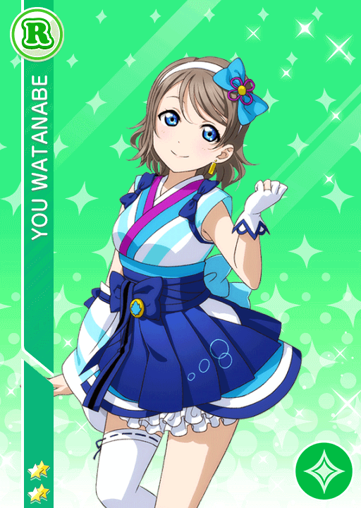 #1091 Watanabe You R idolized
