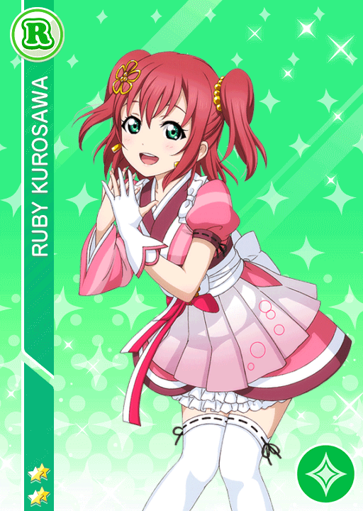 #1095 Kurosawa Ruby R idolized
