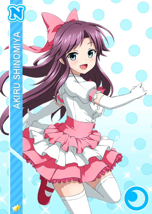 #1101 Shinomiya Akiru N idolized