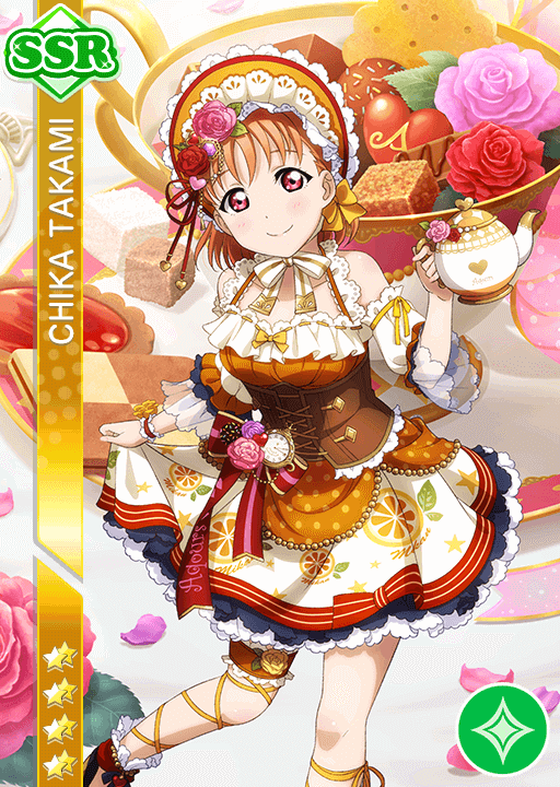 #1120 Takami Chika SSR idolized