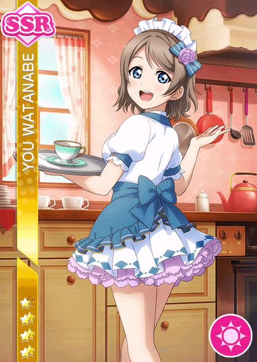 School Idol Tomodachi Cards Album 1131 Watanabe You Ssr