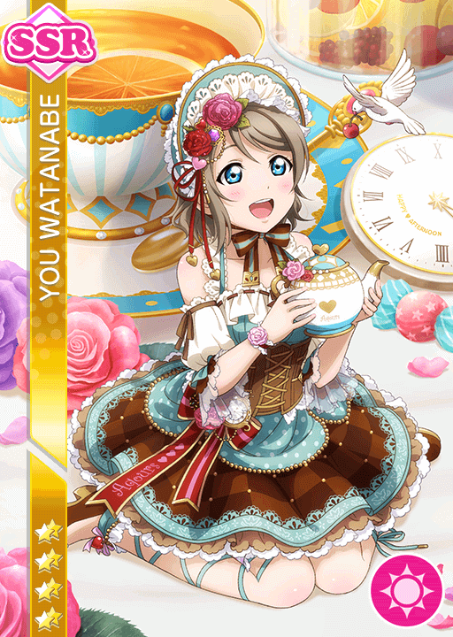 #1131 Watanabe You SSR idolized