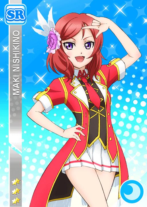 #114 Nishikino Maki SR idolized