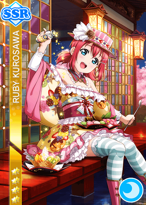 #1153 Kurosawa Ruby SSR idolized