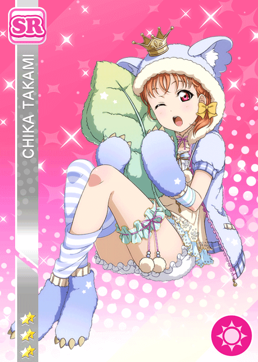 #1161 Takami Chika SR idolized