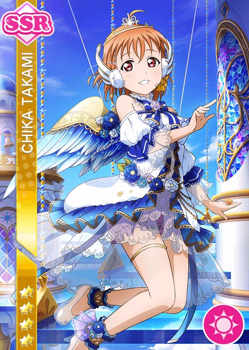 #1197 Takami Chika SSR idolized