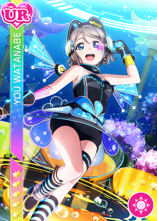 #1220 Watanabe You UR idolized