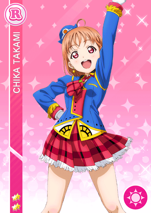 #1239 Takami Chika R idolized