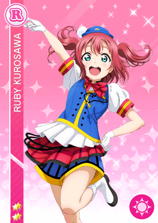 #1247 Kurosawa Ruby R idolized