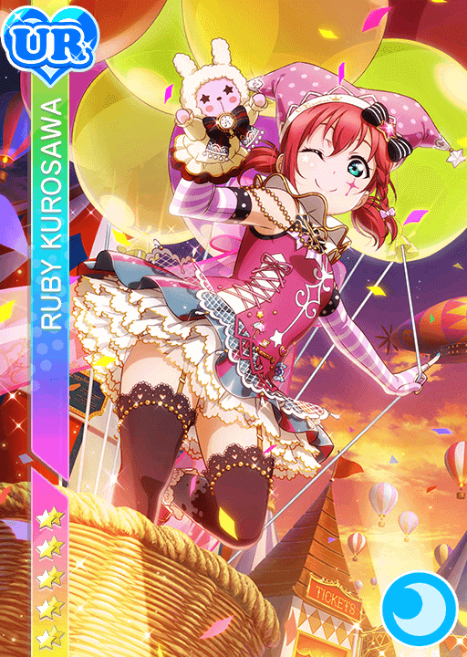 #1251 Kurosawa Ruby UR idolized