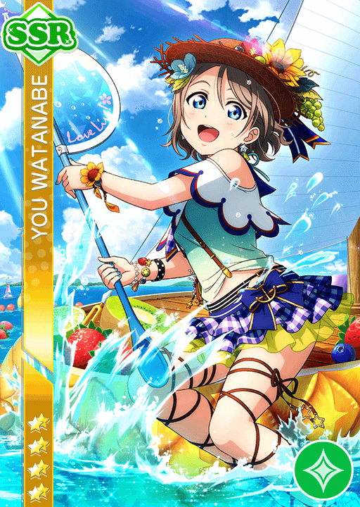 #1272 Watanabe You SSR idolized