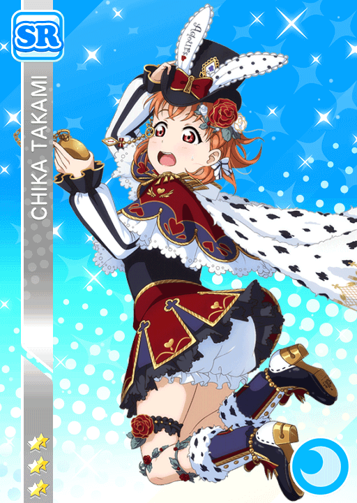 #1280 Takami Chika SR idolized