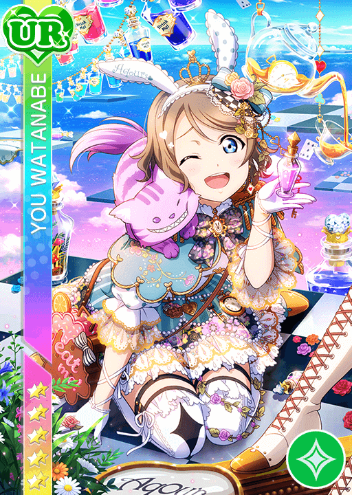 #1284 Watanabe You UR idolized