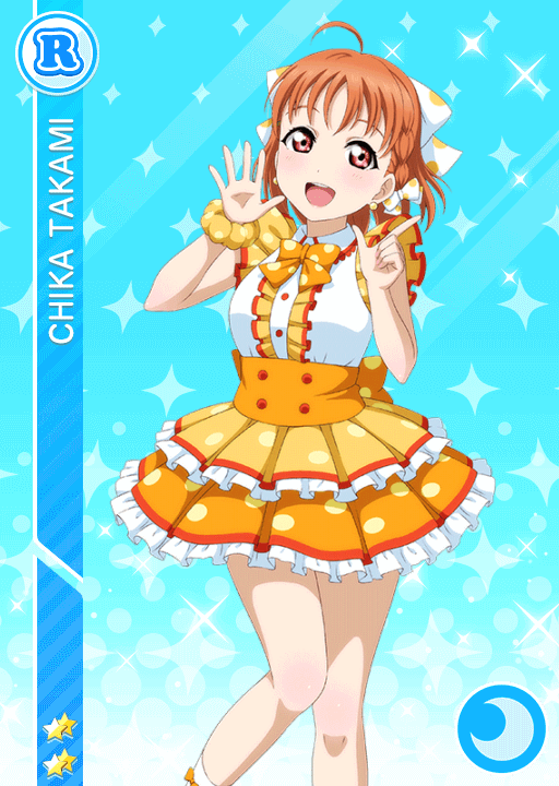 #1301 Takami Chika R idolized