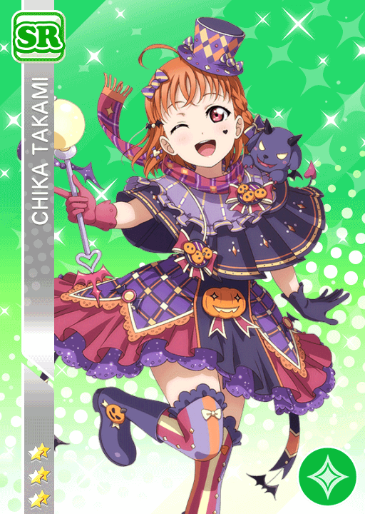 #1310 Takami Chika SR idolized