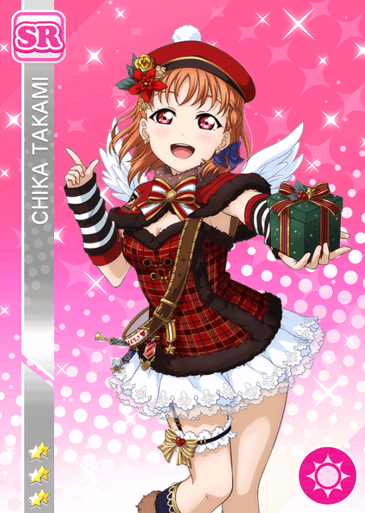 #1365 Takami Chika SR idolized