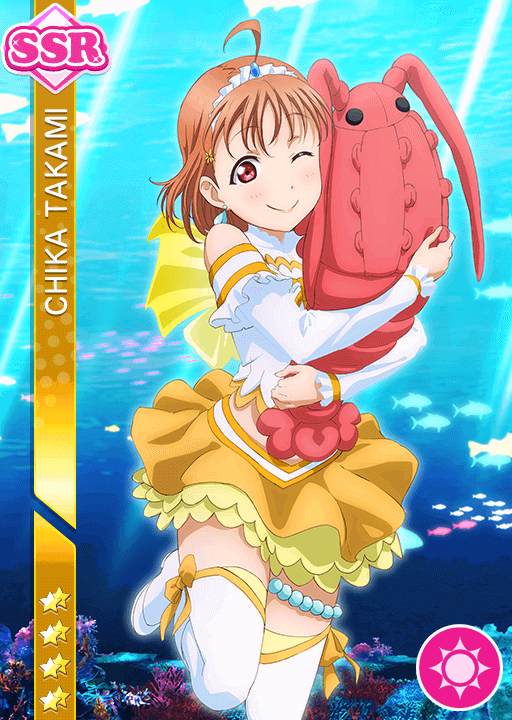 #1387 Takami Chika SSR idolized