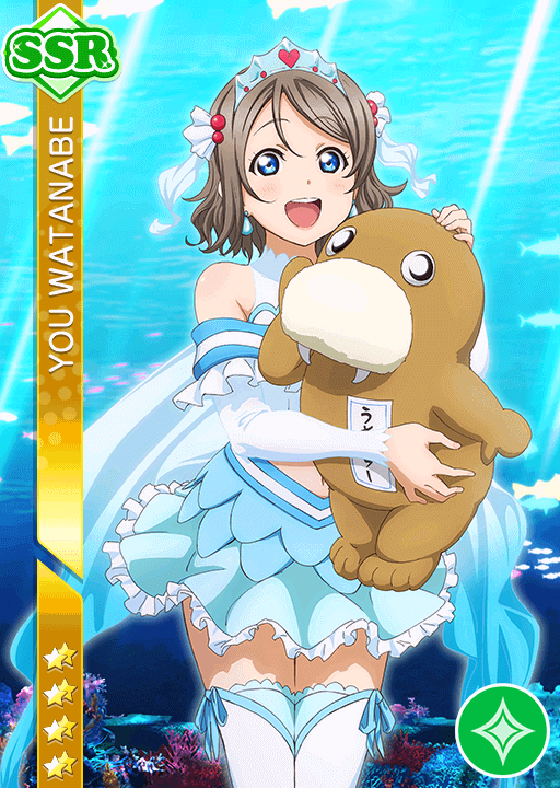 #1391 Watanabe You SSR idolized