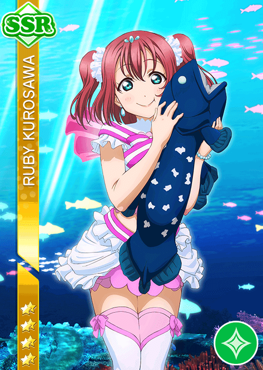 #1395 Kurosawa Ruby SSR idolized