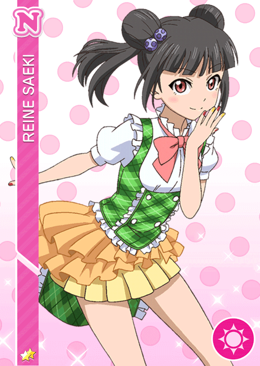 #13 Saeki Reine N idolized