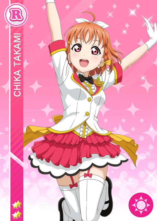 #1432 Takami Chika R idolized