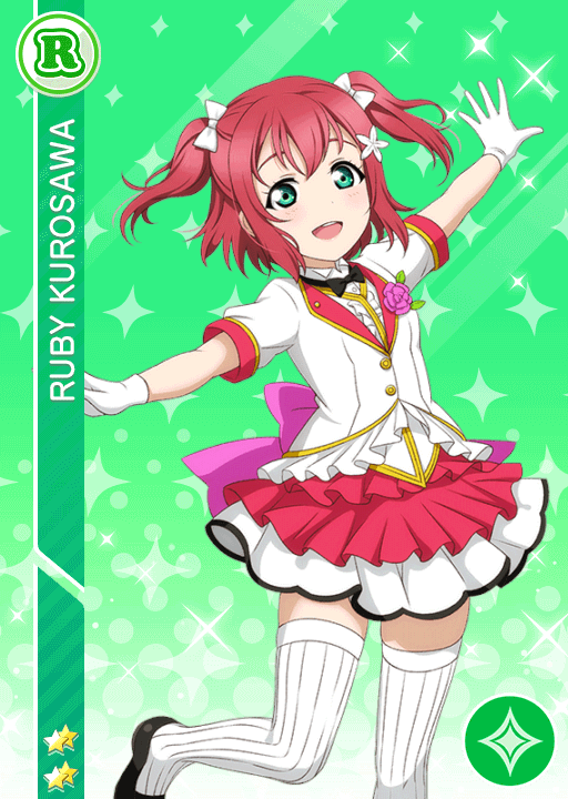 #1440 Kurosawa Ruby R idolized