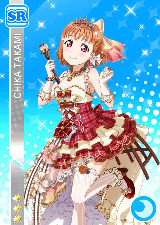 #1441 Takami Chika SR idolized