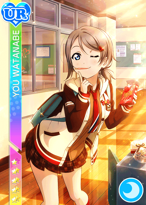 School Idol Tomodachi Cards Album 1445 Watanabe You Ur