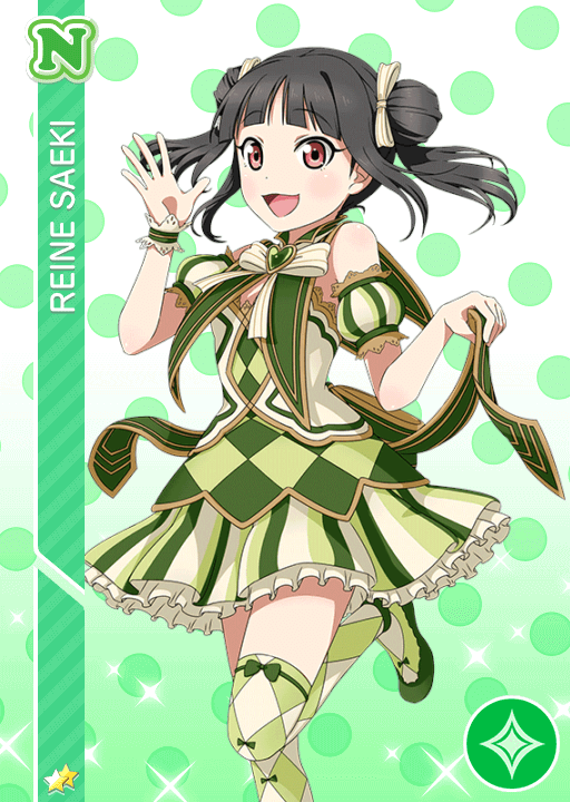 #1455 Saeki Reine N idolized