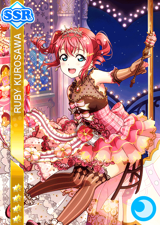 #1458 Kurosawa Ruby SSR idolized