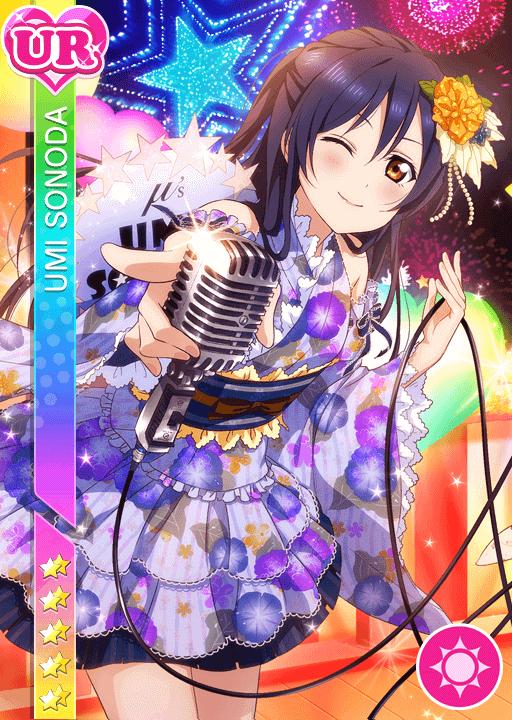 #145 Sonoda Umi UR idolized