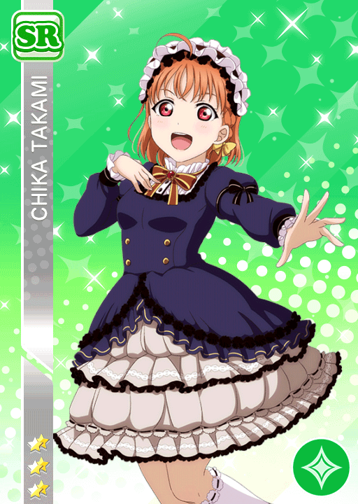 #1461 Takami Chika SR idolized