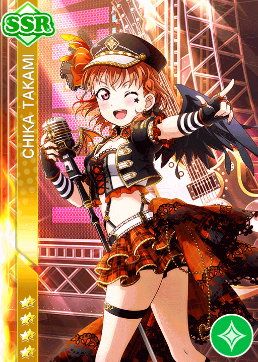 #1470 Takami Chika SSR idolized