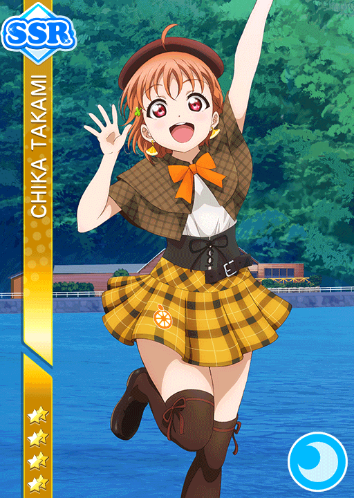 #1490 Takami Chika SSR idolized