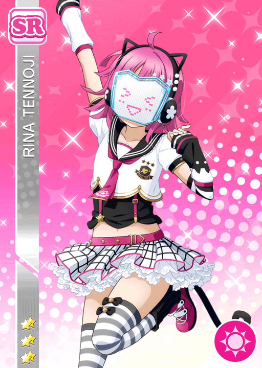 #1515 Tennoji Rina SR idolized