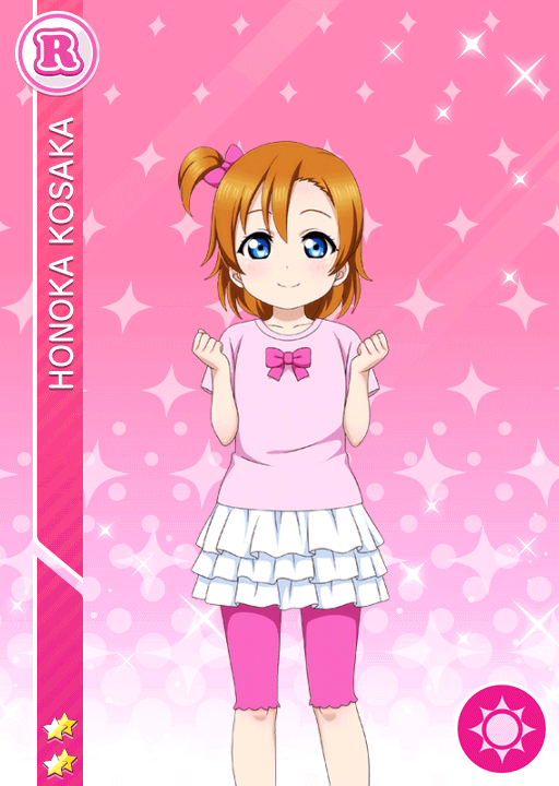 #1516 Kousaka Honoka R idolized