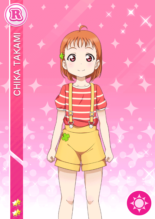 #1525 Takami Chika R idolized