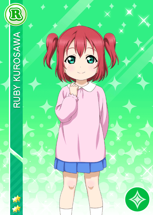 #1533 Kurosawa Ruby R idolized