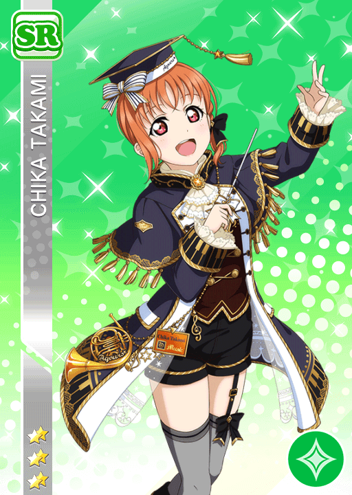 #1544 Takami Chika SR idolized