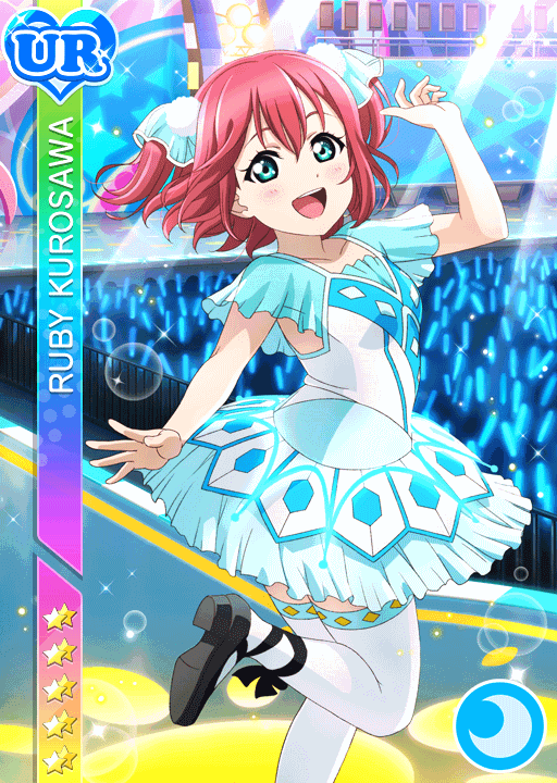 #1554 Kurosawa Ruby UR idolized