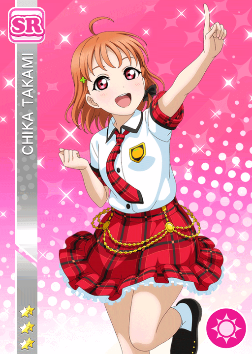 #1565 Takami Chika SR idolized