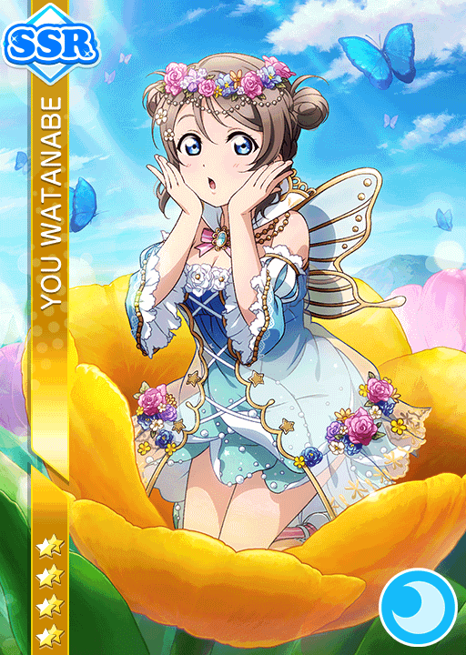 #1581 Watanabe You SSR idolized