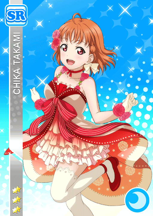#1586 Takami Chika SR idolized